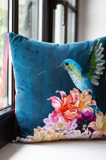 handcrafted hummingbird