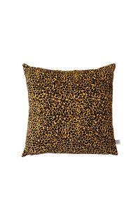 Samtkissen Le Leopard Premium Farbe Serengeti