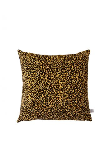 Leopardenmuster, Samtissen, Dekokissen, La Rêverie - Daniela