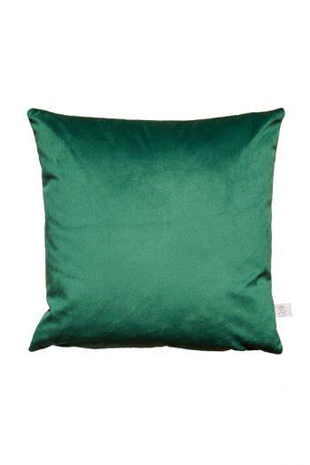 Hochwertiges Samtkissen Smaragd